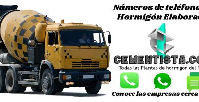hormigon elaborado San Carlos de Bariloche