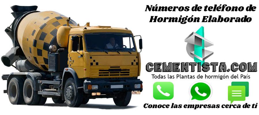 hormigon elaborado José León Suárez