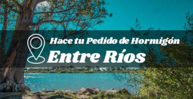 Precio del hormigón preparado en la provincia de Entre Ríos