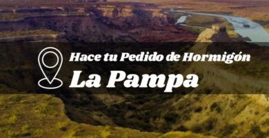 hormigon La Pampa