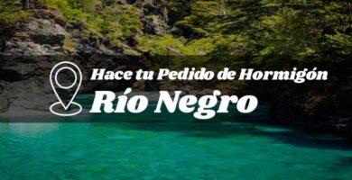 Hormigón industrializado en la provincia de Río Negro