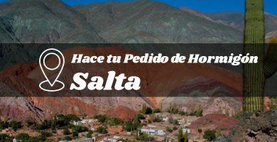 Precio del hormigón fabricado en la provincia de Salta
