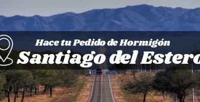 Hormigón elaborado en la provincia de Santiago del Estero