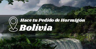 Hormigón industrializado en la provincia de Bolivia